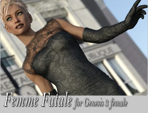 Femme Fatale, Cocktail Dress for Genesis 3 female(s)