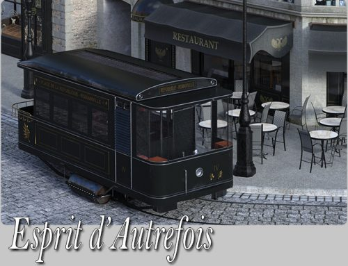 Esprit d'Autrefois, renewed for DAZ Studio
