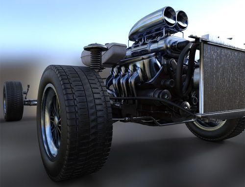 WiP: Muscle Car, first texture